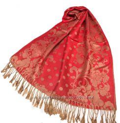 Теплый шарф палантина в расцветках