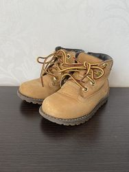 Весенние ботиночки timberland для мальчика 23р