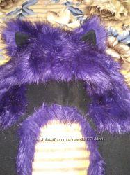 Зимняя меховая шапка для девочки