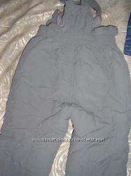Полукомбинезон брюки на синтапоне на 6 лет