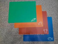Гибкие кухонные доски, набор из 4 шт