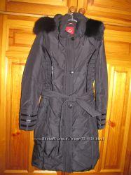 Зимнее пальто, наполнитель - пух, размер XXL, в отличном состоянии