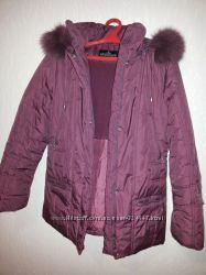 Красивая и очень теплая куртка-пуховик