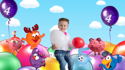Видео поздравление с смешариками