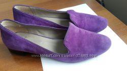 Фиолетовые лоферы Office 39 разм