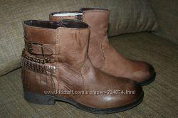Кожаные деми ботинки германия 41 р