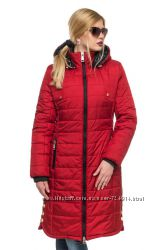Зимняя женская куртка парка яркая рр 44-56