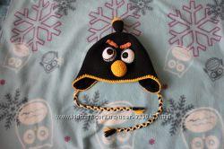 зимняя шапка angry birds 52