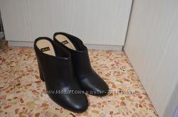 Bata сабо кожаные 39 размер