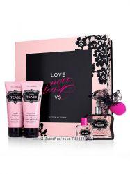 Подарочный набор Victoria Secret- лосьон, Парфюм, гель для душа