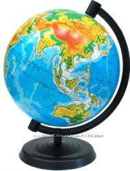Глобус физический, диаметр 26 см