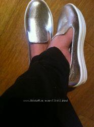 слипоны мокасины  туфли