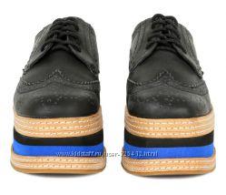 Ботинки Оксфорды  кожаные 36-37р.