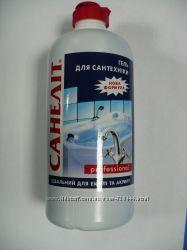 Санэлит - Гель для мытья акриловых и эмалированных ванн