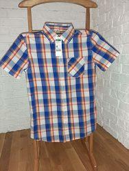 Рубашка на парня рост 160 см Benetton