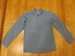 синяя рубашка ТМ Милана Рост 146-152 ворот 34.