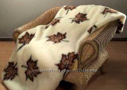 Двухспальное одеяло 100 шерсть.