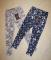 Распродажа Тонкие хлопковые лосины 2 цвета на рост 116-122