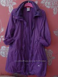 фиолетовая ветровка Adidas оригинал