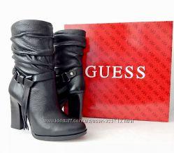 Кожаные сапоги Guess Оригинал 39 размер