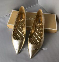 Красивые золотистые балетки Michael Kors Оригинал 38 размер