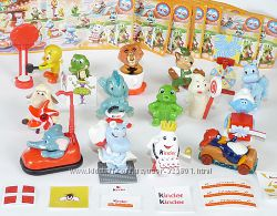 Юбилейная серия игрушек от киндер