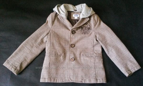 Наш стильный пиджак на подкладке от Chicco