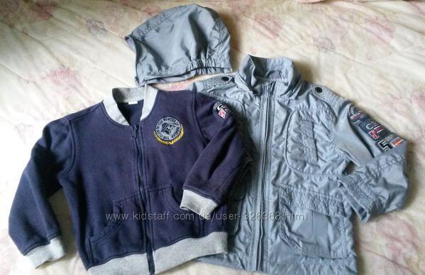 Куртка-ветровка с подстежкой. 2 в 1