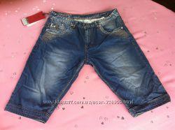 Бриджи шорты джинсовые Levrictor мужские.  W30, 31