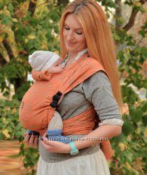 Май слинг шарфомай Nashsling Наш Слинг для детей с рождения. Ассортимент.