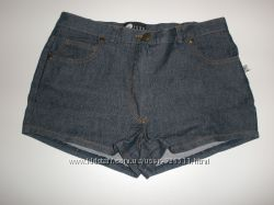 Шорты джинсовые темно-синие S