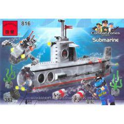 Конструктор Подводная лодка Brick 816.
