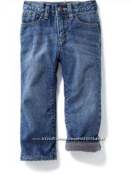Теплые джинсы на флисе Old Navy распродажа