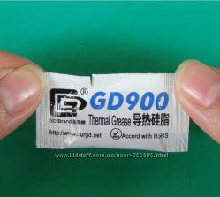 Термопаста GD900, теплопроводность 4, 8 ВтM-K в Киеве упаковка 0, 5 грамм