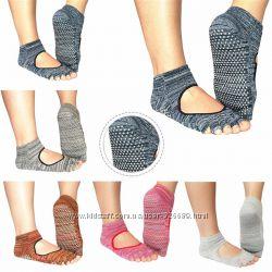 Носки для йоги меланж