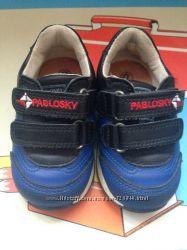 Кроссовки кожаные Pablosky
