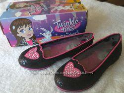 Новые нарядные туфли Skechers, US 12, 19 см стелька. Оригинал, в коробке.