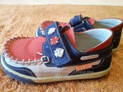кожаные туфли Red Kids, 23 размер