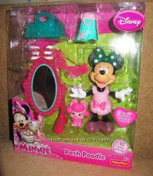 Минни Маус кукла с одеждой, питомцами игрушки Fisher Price Minnie Mouse