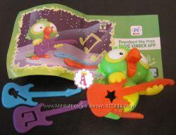 Киндер Макси Попугаи 2019 и игрушки из коллекций Kinder Surprise фигурки