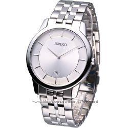 Классические часы SEIKO SKP379P1, сапфир, ультратонкий корпус, оригинал