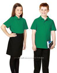 Зелёные футболки-поло в школу George Англия