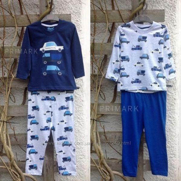 Комплекты пижам для мальчиков Primark Англия разные расцветки