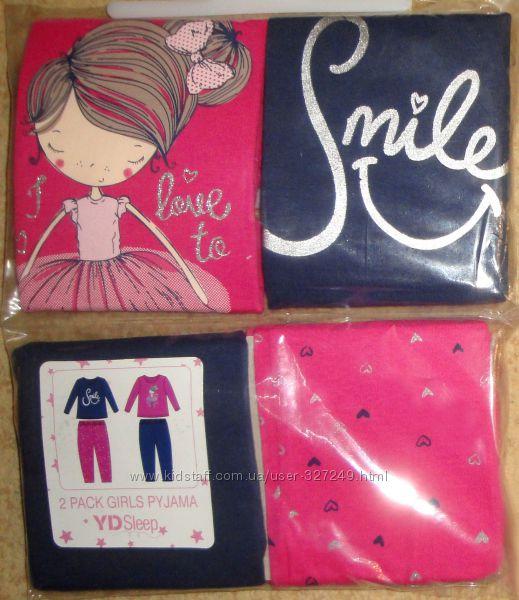 Красочные, очень красивые пижамки для мальчиков и девочек Primark Англия