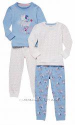 Пижамы для девочек F&F Англия