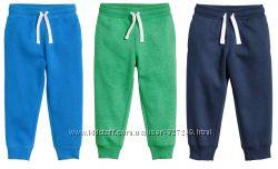 Тёпленькие спортивные штанишки с начёсом H&M и F&F Англия