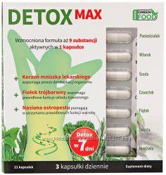 Detox Макс х 21 капсула для похудения и супер очищения