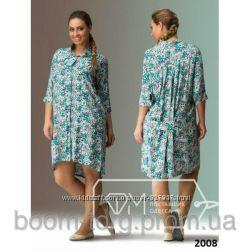 Платье-рубашка 48раз. Фабрика Моды