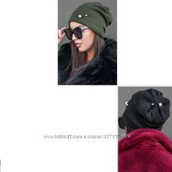 Теплая шапка YAVORSKY