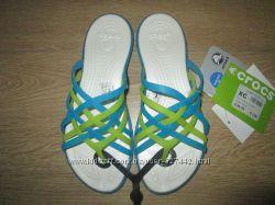 Женские шлёпки крокс Crocs